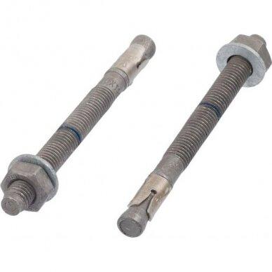 Ankeris betonui (karštai cinkuotas + A4 žiedas) MTP-G