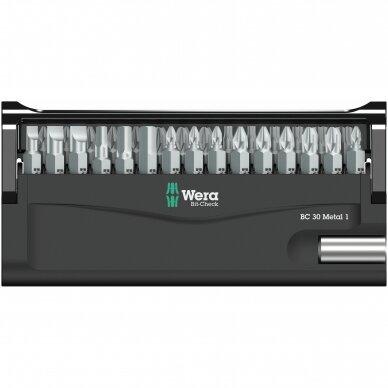 Antgalių rinkinys Bit-Check 30 Metal 1 WERA 2
