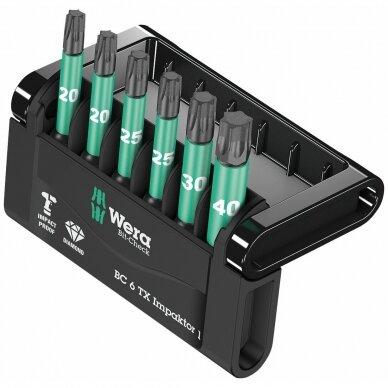 Antgalių rinkinys Bit-Check 6 TX Impaktor 1 WERA