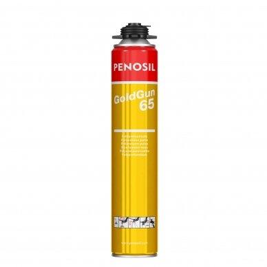 Pistoletinės didesnės išeigos montažinės putos PENOSIL GoldGun 65 900 ml