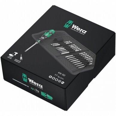 Įrankių komplektas Kraftform Kompakt 60 WERA 2