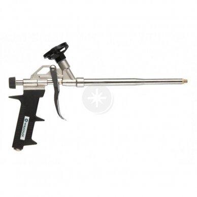 Montažinių putų pistoletas metalinis