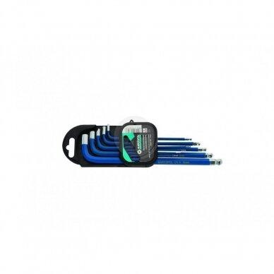 Šešiakampių raktų koplektas CR-V